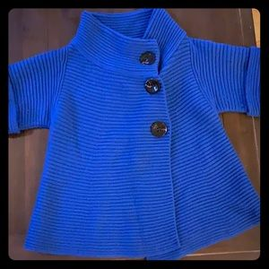 Piazza sempione blue sweater